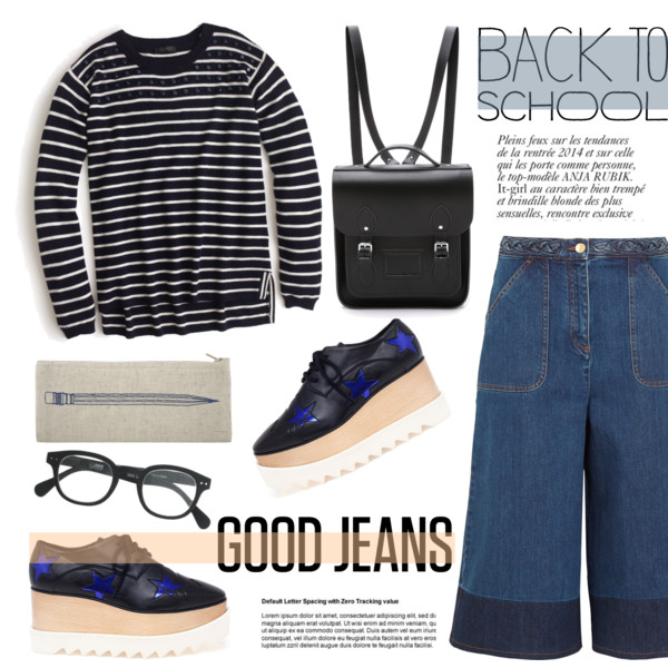 back to school outfit ideas with a cute backpack 5