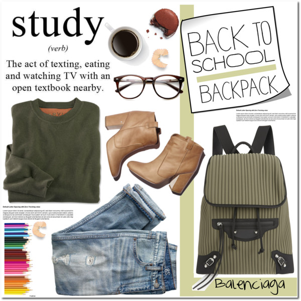 back to school outfit ideas with a cute backpack 6