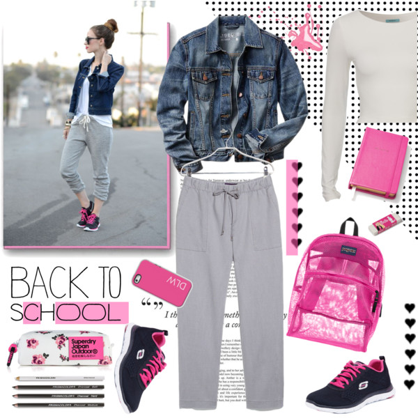 back to school outfit ideas with a cute backpack 8