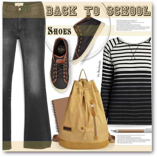 back to school outfit ideas with a cute backpack 9
