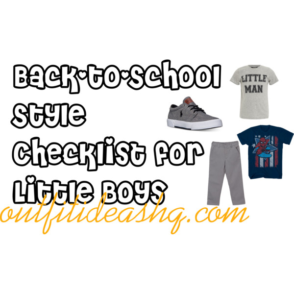 back-to-school style checklist for little boys 8