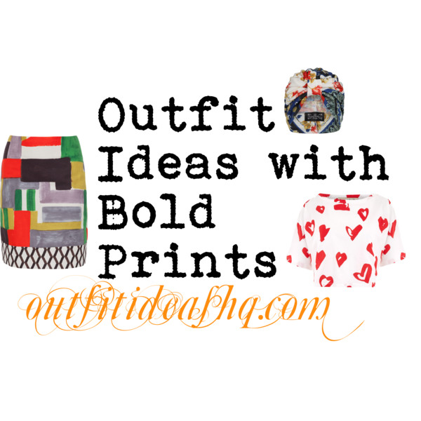 bold prints outfit ideas 12