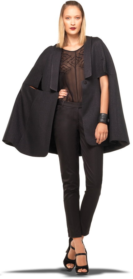 cape poncho wrap fall winter 2015 8