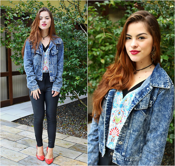casual outfits with outerwear and denim combo 1