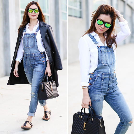 casual outfits with outerwear and denim combo 2