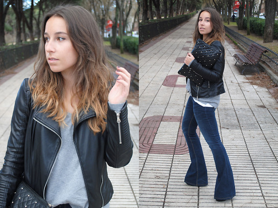 casual outfits with outerwear and denim combo 4