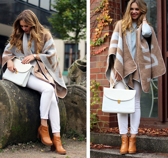 casual outfits with outerwear and denim combo 6