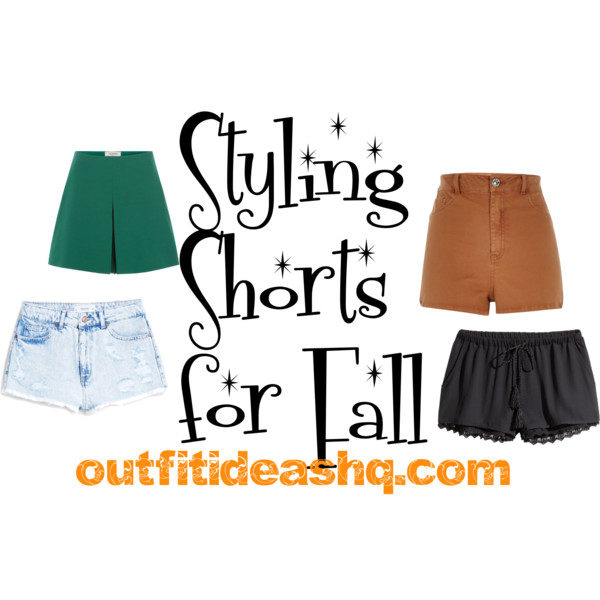 fall outfit ideas with shorts 11