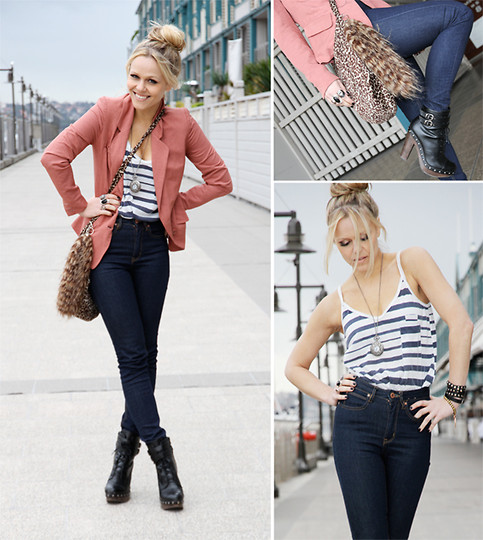 high waisted jeans outfit ideas 10