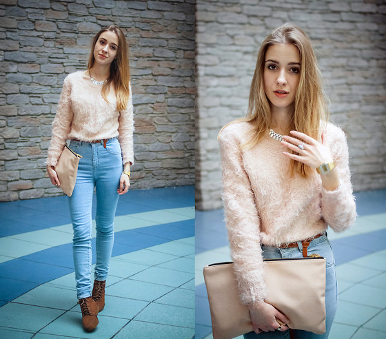 high waisted jeans outfit ideas 7