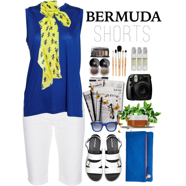 outfit ideas with bermuda shorts 8
