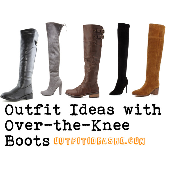outfit ideas with over the knee boots 14