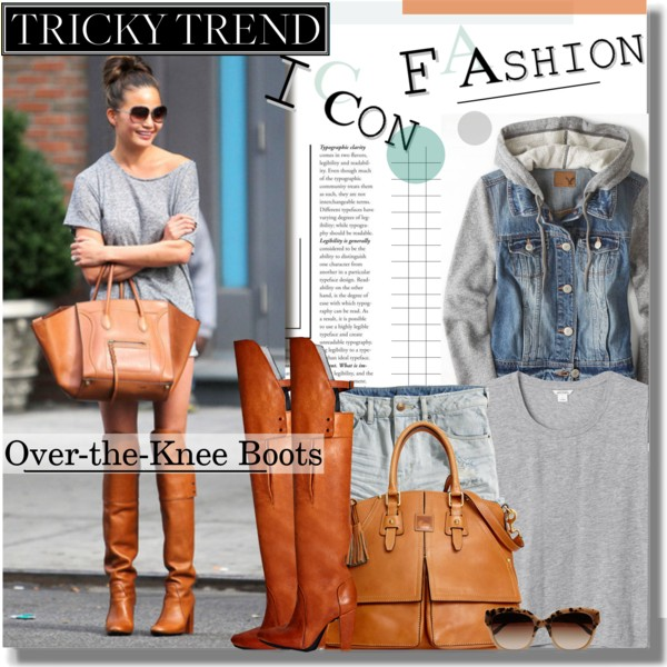 outfit ideas with over the knee boots 4