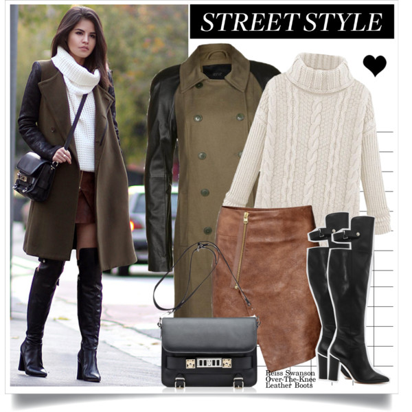 outfit ideas with over the knee boots 6