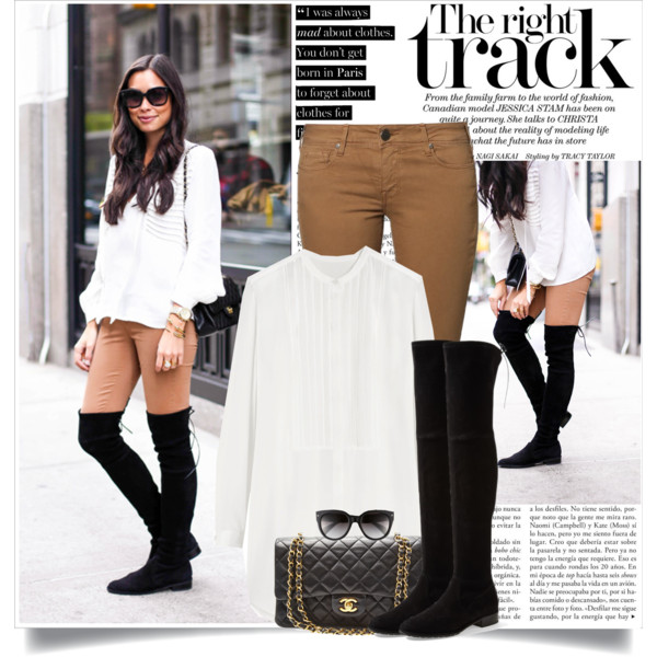 outfit ideas with over the knee boots 8