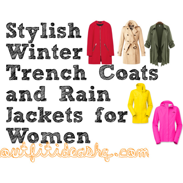 Stylish Winter Trench Coats and Rain Jackets for Women 12