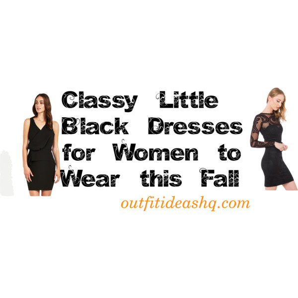 classy lbd for fall 12