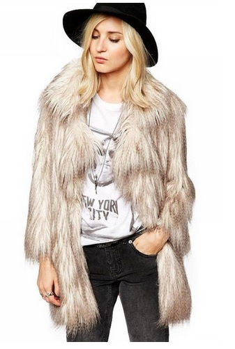 faux fur jacket coat for women this fall winter 2
