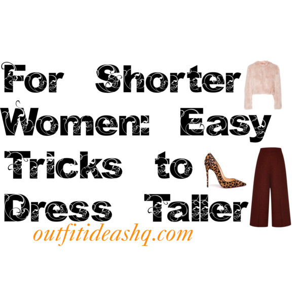 how to look taller 9