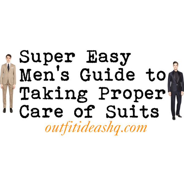 how to take care of your suit 11