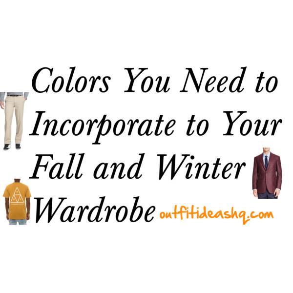 men color fall winter 12
