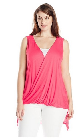 pink plus size tops 1