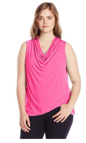 pink plus size tops 5