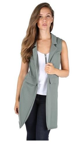 sleeveless vest 8