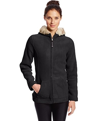 sporty fleece jackets to wear this winter for women 4