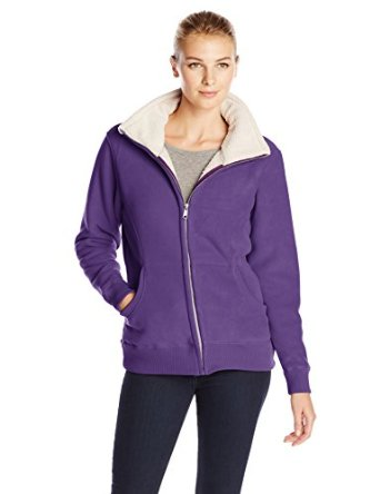 sporty fleece jackets to wear this winter for women 6