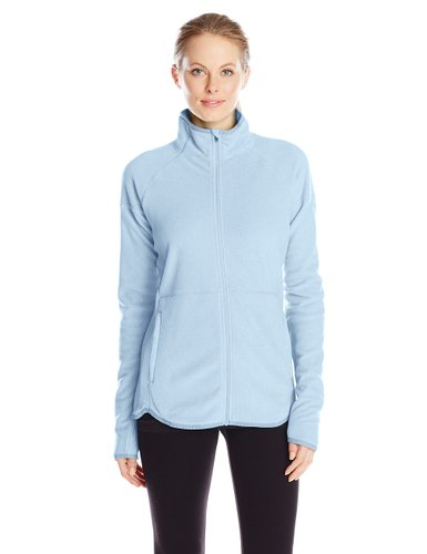 sporty fleece jackets to wear this winter for women 7