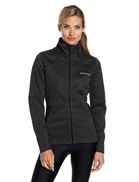 sporty fleece jackets to wear this winter for women 8