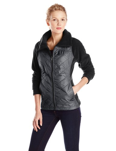 sporty fleece jackets to wear this winter for women 9
