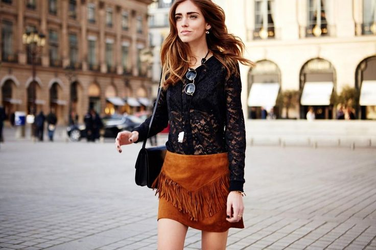 Easy Ways to Style Your Suede Skirt All Year Round - Outfit Ideas HQ