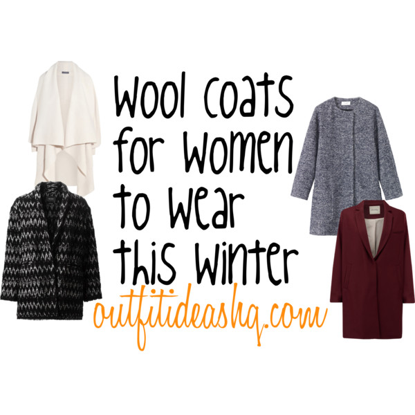 wool and blended coats for women 12