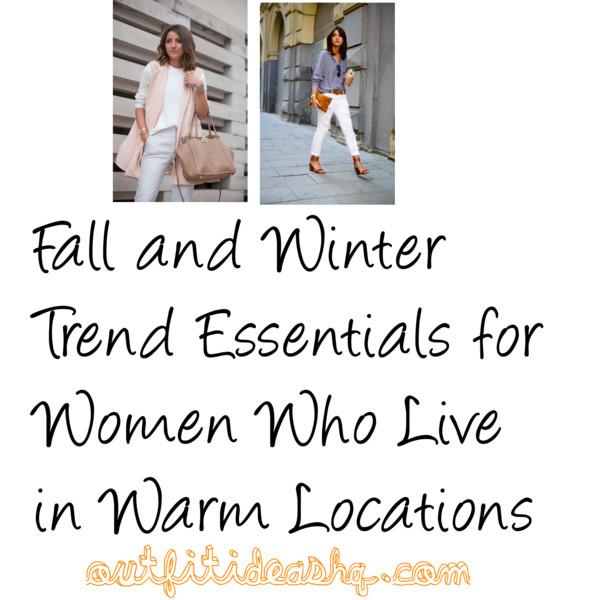 fall winter women in warm weather 9