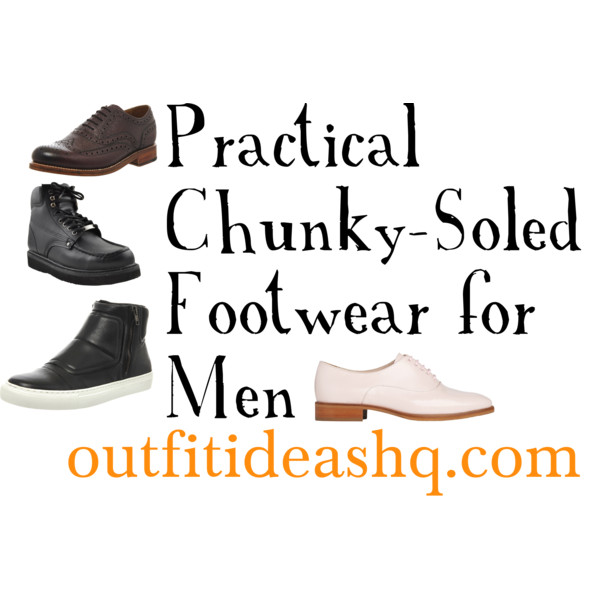 men chunky shoes 9