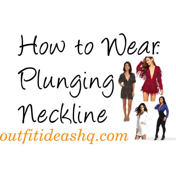 plunging neckline 10