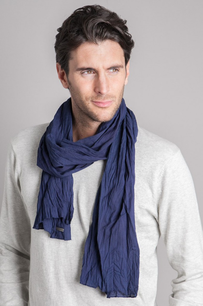 The Best Ways For A Man To Wear A Scarf