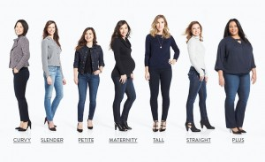 jeans for body shape