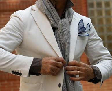 The best ways for a man to wear a scarf outfit ideas hq it is very easy to tie a scarf in this knot and it looks stylish as well you just need to decide how to wear it high or low ccuart Image collections