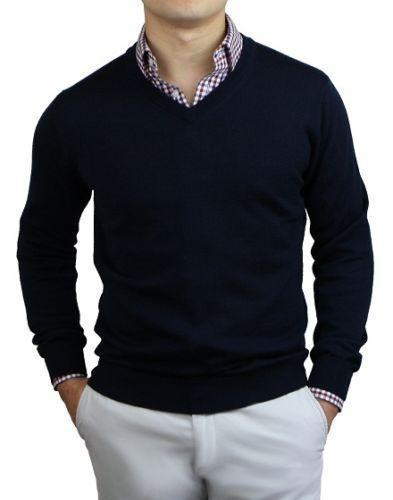 Top 8 Sweaters Men Can Wear For The Office - Outfit Ideas HQ