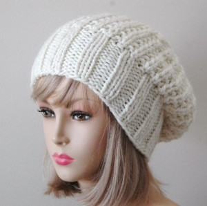 beanie with slouch