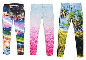 digital printed denim