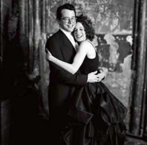sarah jessica parker black wedding dress