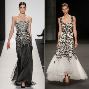 baroque evening dresses