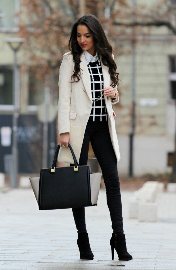 20 Black and White Street Style Outfits for Teens To Copy ...