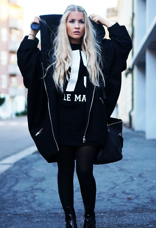 Black and White Outfit for Teens 12