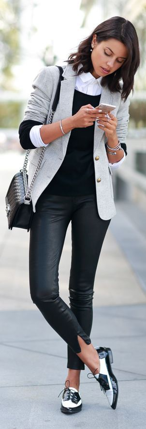 Black and White Outfit for Teens 15