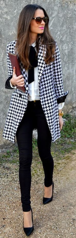 Black and White Outfit for Teens 18